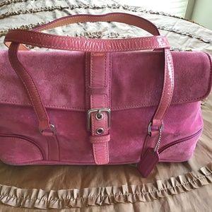 Coach Suede Bag